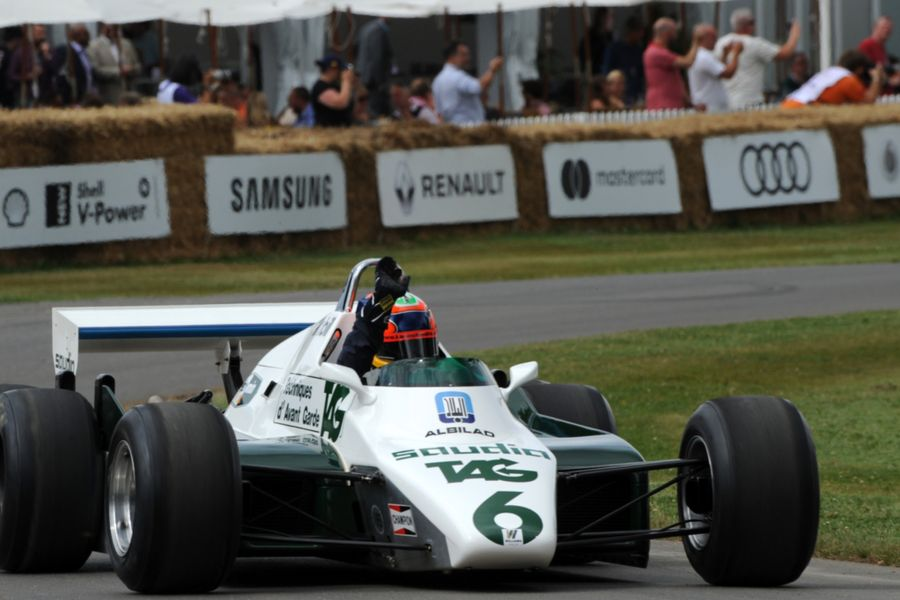 5-time Le Mans 24 Hours winner Emanuele Pirro to drive Williams FW08B at Goodwood FOS