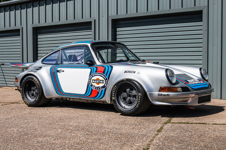 1980 Porsche 911 RSR homage in Martini Racing livery at Silverstone Classic Sale
