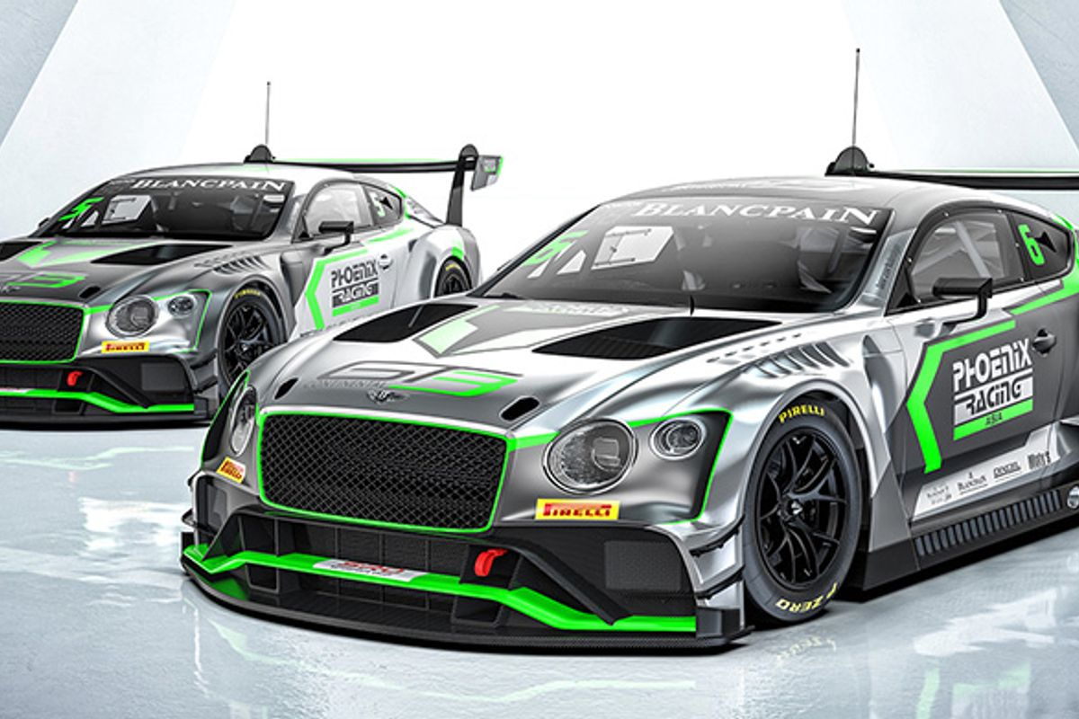 Bentley Team Phoenix Racing Asia to enter new Continental GT3s in Chinese rounds