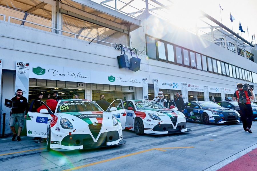 Alfa Romeo Giulietta TCR by Romeo Ferraris on three different fronts this weekend