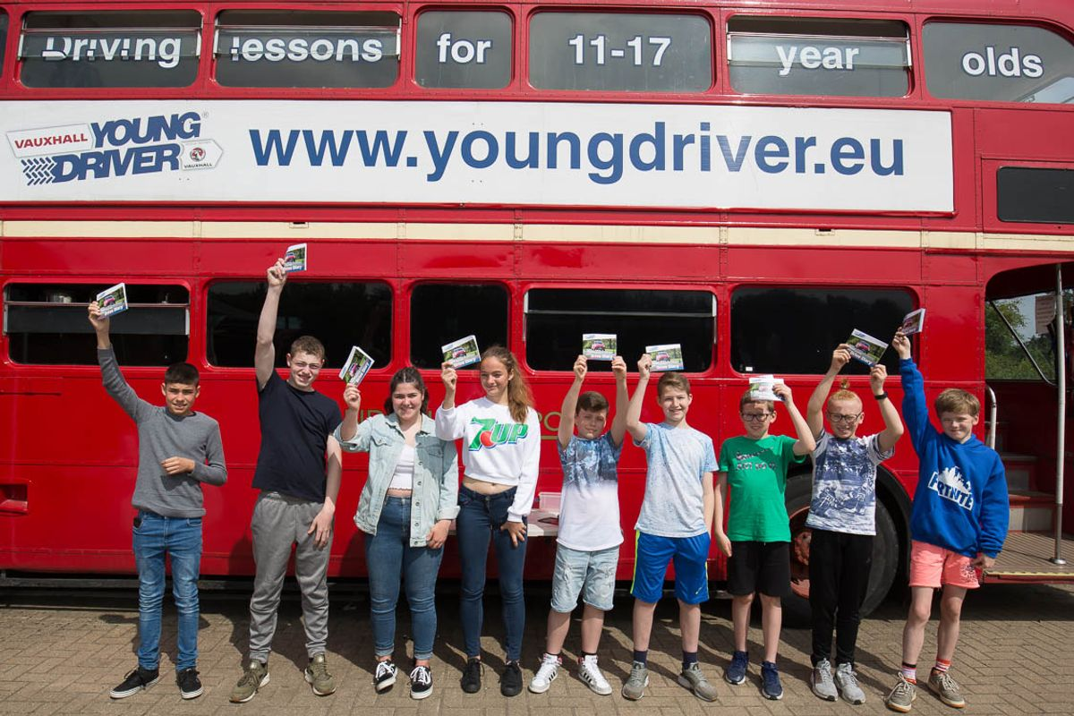 Living the dream: Young Driver scheme debuts at Silverstone Classic