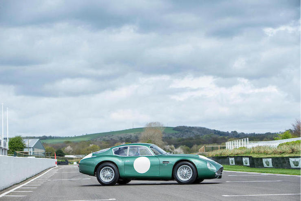 1961 Aston Martin 'MP209' DB4GT Zagato tops £10m at Bonham's Goodwood Auction, results