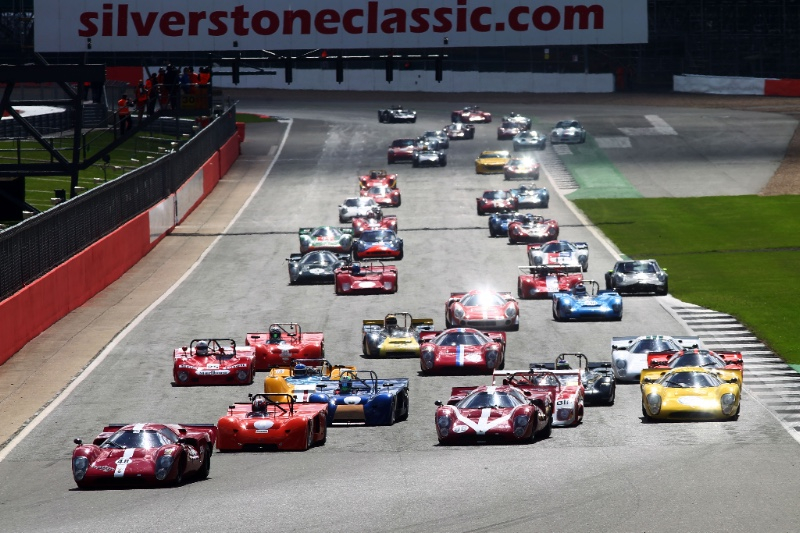Days to go before the 2018 Silverstone Classic: a 3 day classic motor racing festival