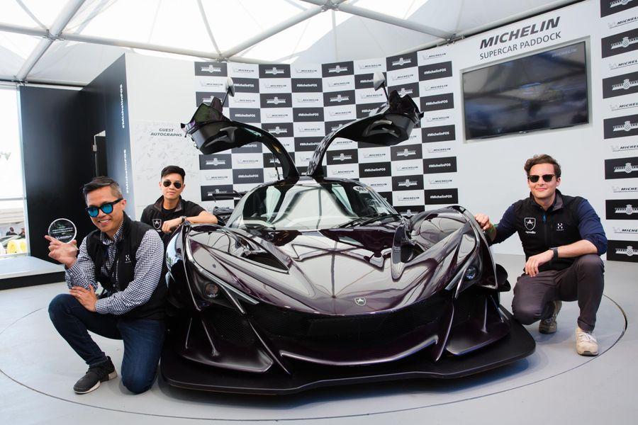 7th Year of Michelin Supercar Paddock at FoS, Showstopper Trophy shortlist by public vote