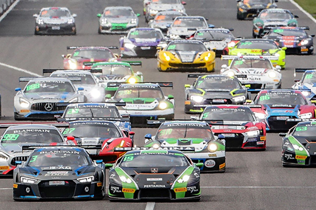 2018's biggest grid for second half of Blancpain GT Asia season at Fuji