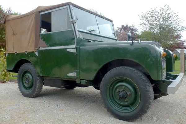 1951 Land Rover 80 at H&H Buxton Auction