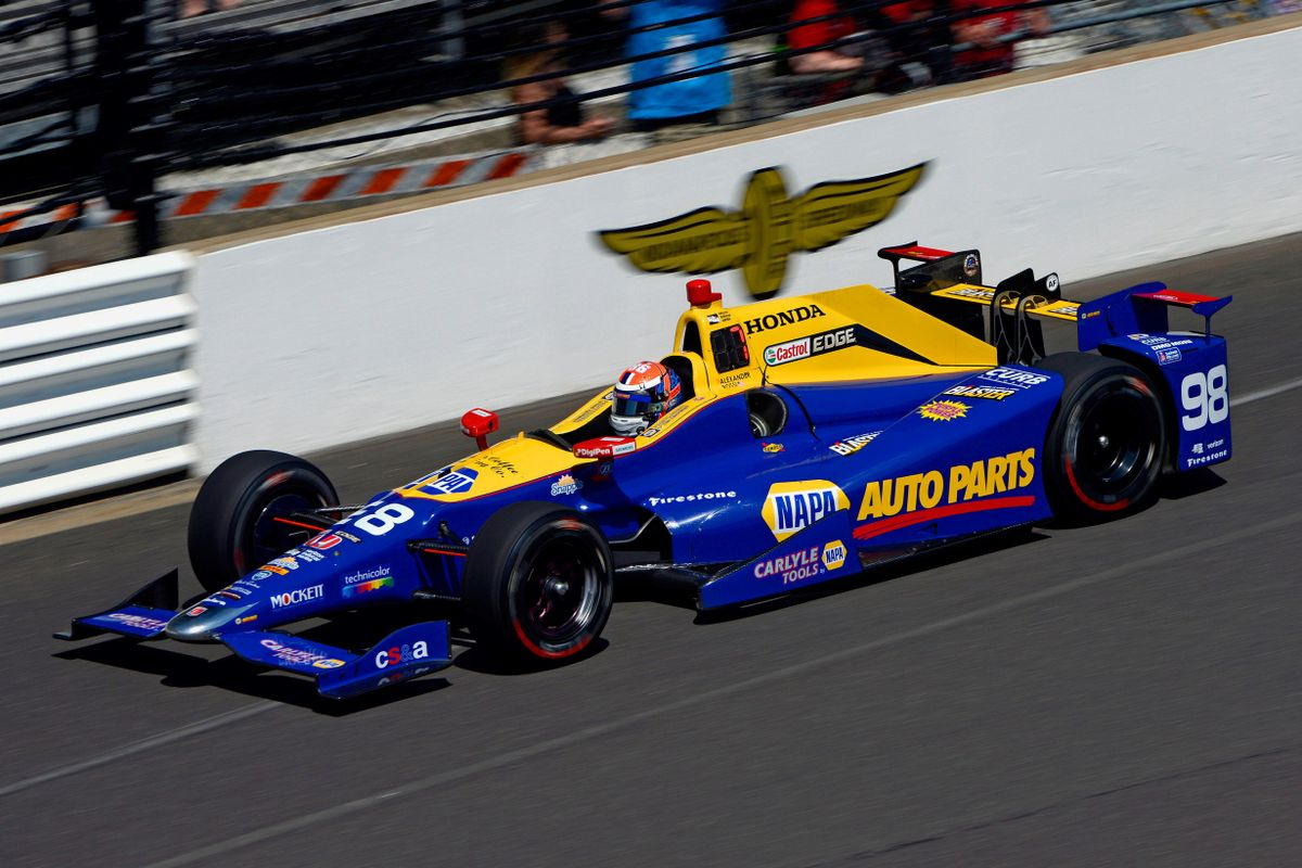 Winning Car of the 100th Running Of The Indy 500 up for auction at Mecum