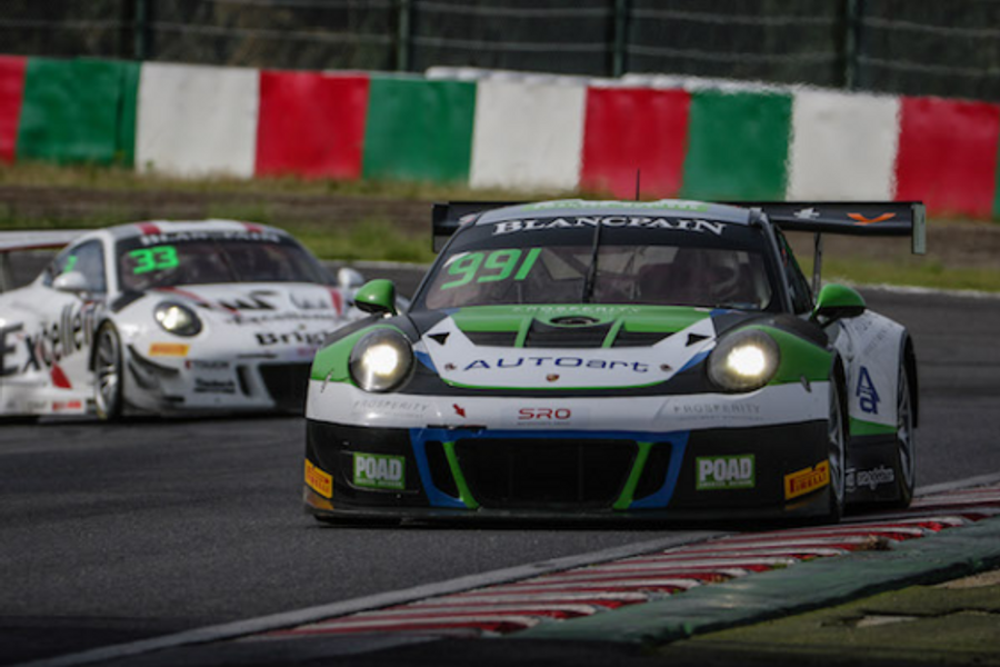 Porsche Asia Pacific ready for season's biggest Blancpain GT Asia grid at Fuji