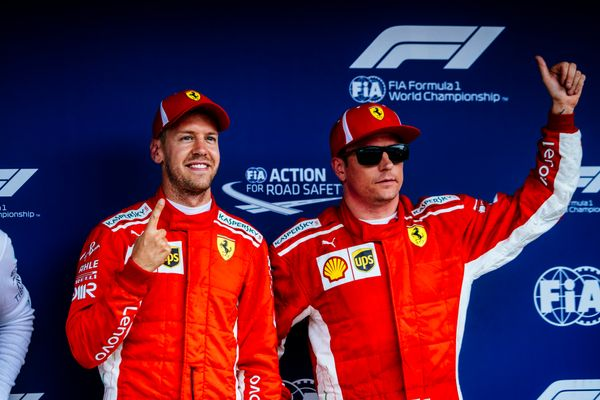 Kimi and Seb's comments on today's German GP qualifying session