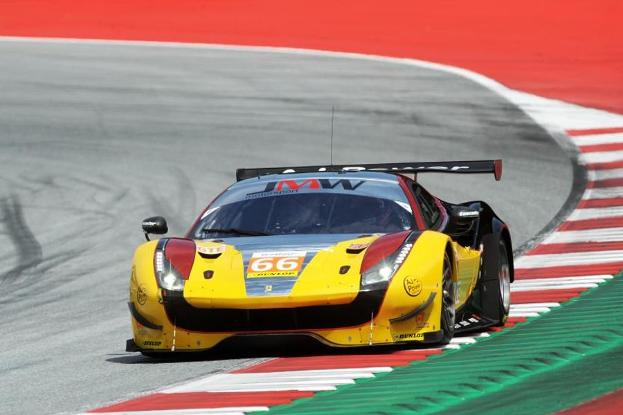 JMW Motorsport on pole at Spielberg ELMS