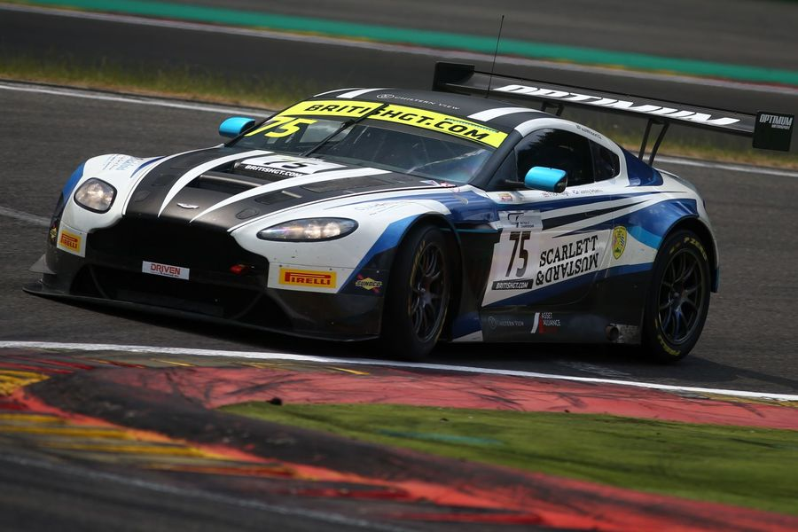 Spa poles for Optimum Motorsport's Haigh/Adam and Tolman Motorsport's Fagg/O'Brien