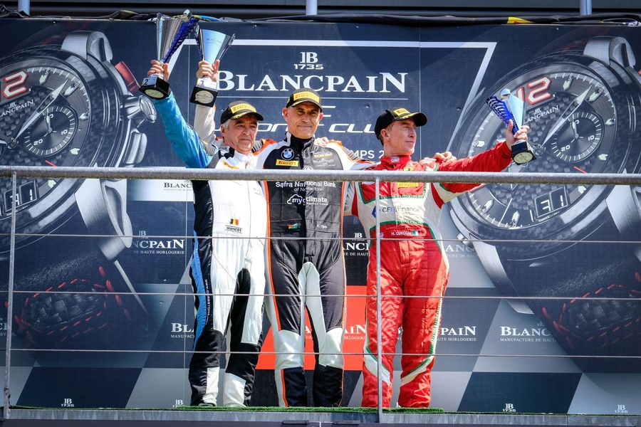 Karim Ojjeh extends Blancpain GT Sports championship lead after Main Race win at Spa