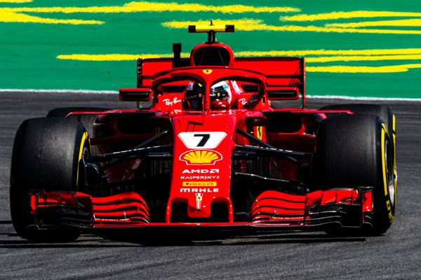 Kimi takes another podium at the German Grand Prix