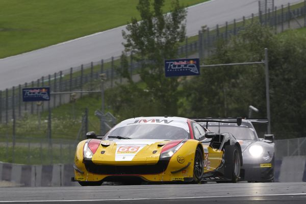Gearbox Problems Cost MacDowall & JMW Motorsport Potential LMGTE Victory Challenge