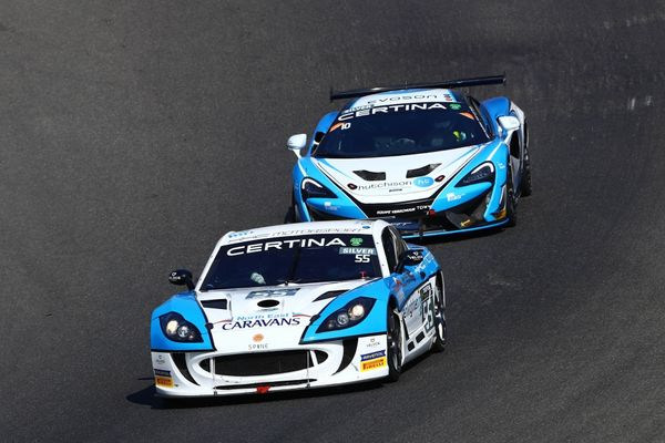 Tregurtha & Middleton Increase GT4 Euro Points Advantage With Fifth Podium Of Year At Spa