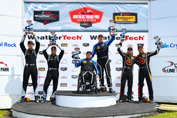 Exceptional victory for Audi RS 3 LMS in Continental Tire SportsCar Challenge