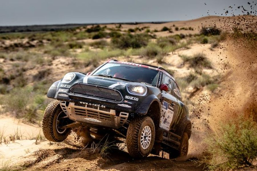 MINI John Cooper Works Rally cars finish one-two in Stage 5 of Silk Way Rally