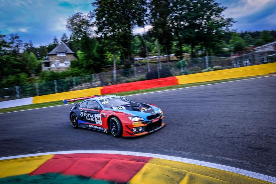 Walkenhorst BMW charges to SuperPole by topping Total 24 Hours of Spa qualifying