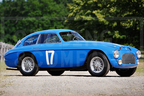 1950 Ferrari 166 MM/195 S Berlinetta Le Mans at Gooding's Pebble Beach Auction