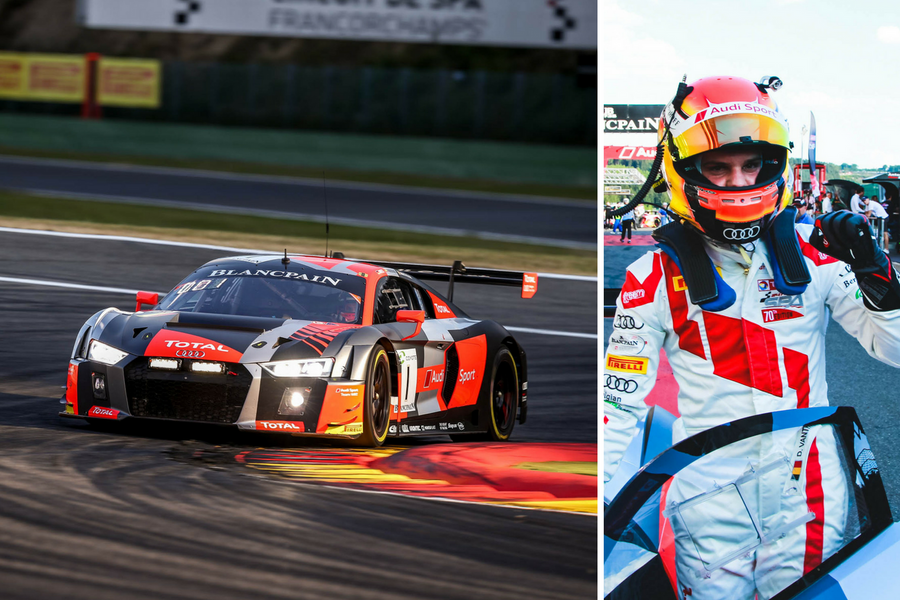 Dries Vanthoor puts Audi Sport Team WRT on dominant pole for Total 24 Hours of Spa