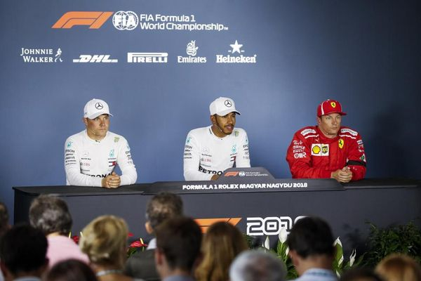 Hungarian Grand Prix Post-Qualifying Press Conference