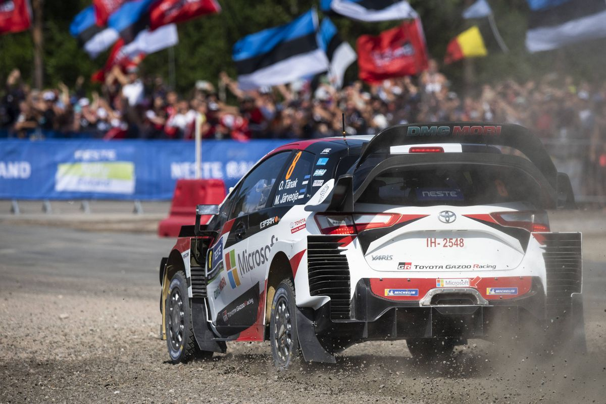 Tänak returns to form with masterful Rally Finland victory