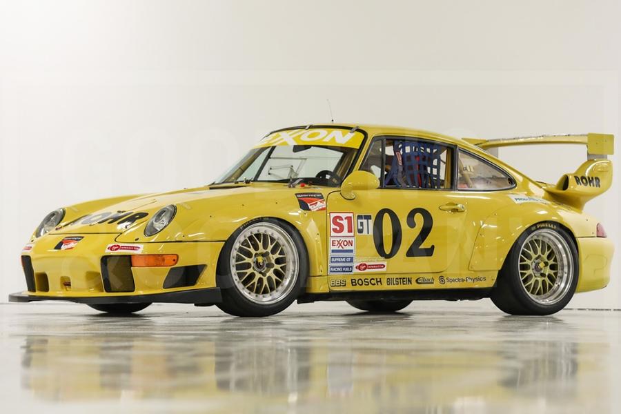First Production 993 GT2 Race Car Built: 1995 Porsche 993 GT2 - News