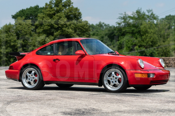 Iconic 1994 Porsche 964 Turbo 3.6 in stunning condition offered by Gooding's