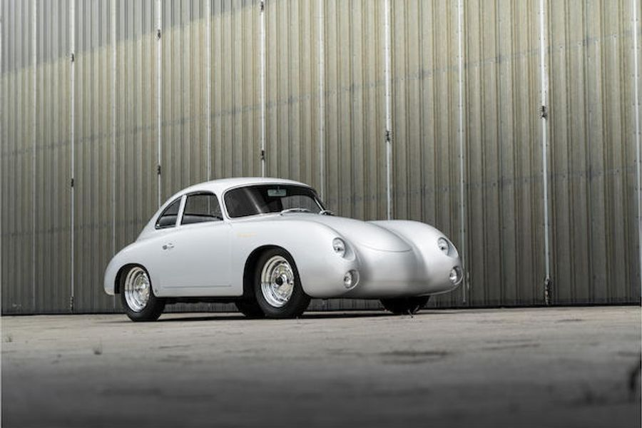1956 Porsche 356A Carrera GS Coachwork by Reutter at Bonhams' Quail Lodge auction