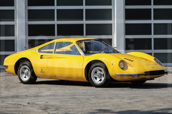 1966 Ferrari Dino Berlinetta GT features at Gooding's Pebble Beach auction