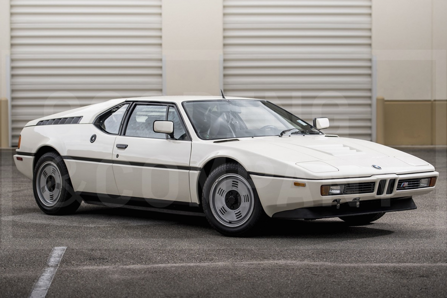Unrestored 1981 BMW M1 offered without reserve at Gooding's Pebble Beach auction