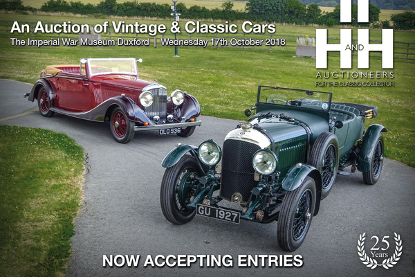 Most original and best-preserved Derby Bentley in the world at H&H