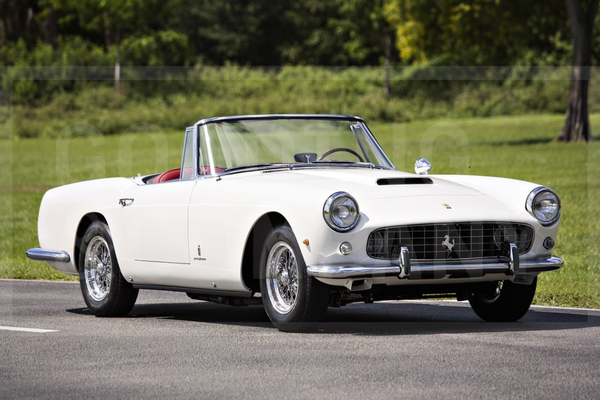 1961 Ferrari 250 GT Series II Cabriolet gallops to Gooding's Pebble Beach Auction