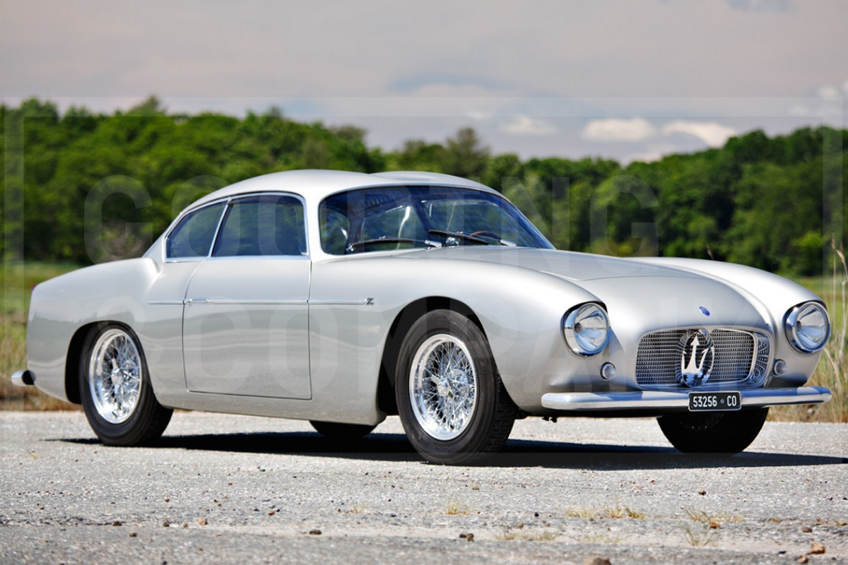 1956 Maserati A6G/54 Berlinetta to cross the block at Gooding's Pebble Beach Auction