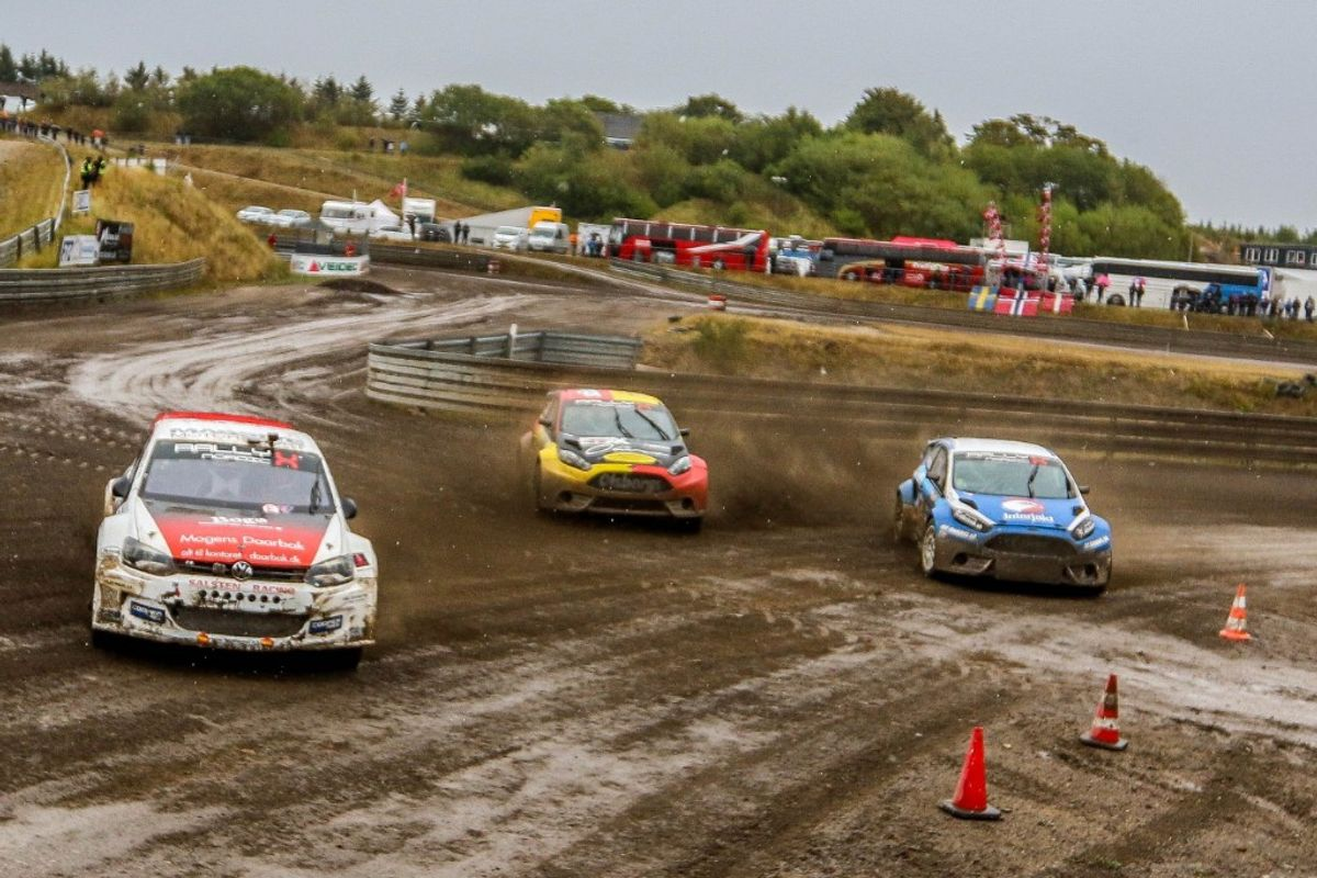 Comeback King Linnemann rules on home soil in Nysum RallyX Nordic