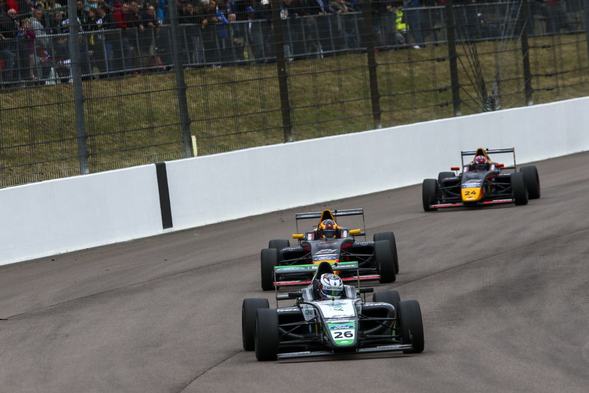 Championship Leader Jewiss Takes Double British F4 Podium At Rockingham