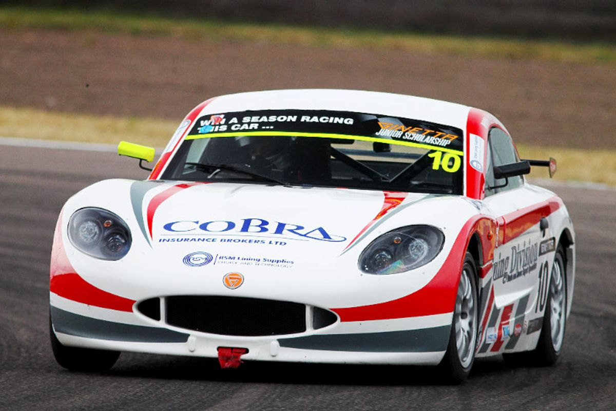 Seventh Ginetta win of the year for Richardson Racing on home soil