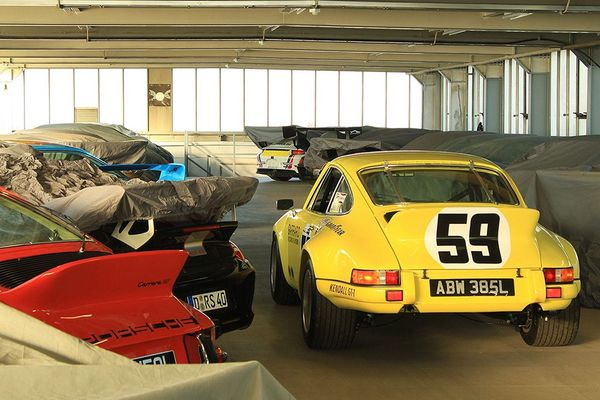 Hoards of air-cooled 911 parts from the South of France at Neil Bainbridge-BS Motorsport Auto Jumble