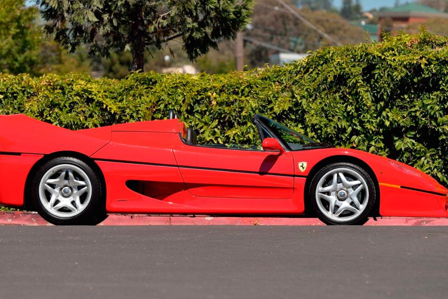 On Offer At Mecum 1995 Ferrari F50 No 2 Of 349 Built Frankfurt