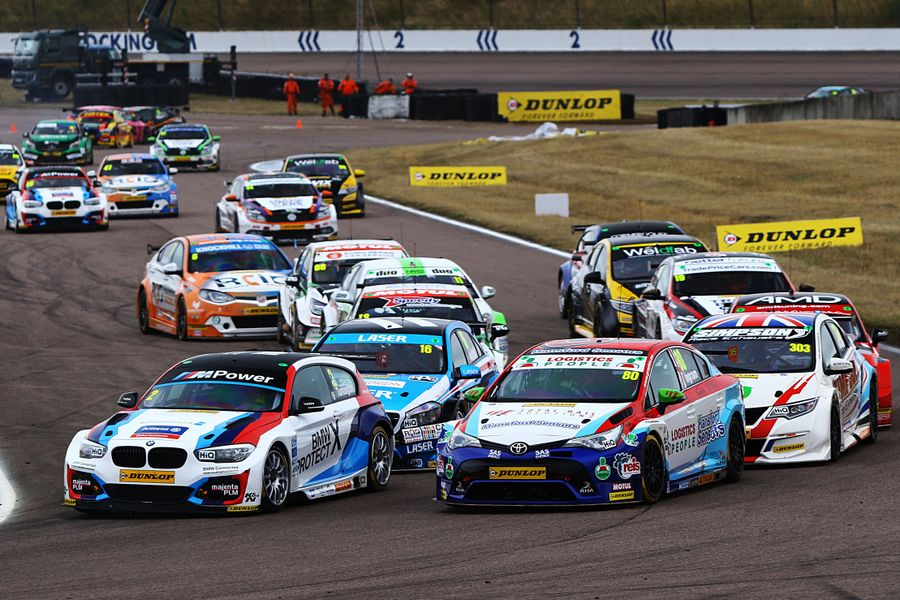 Team BMW's Turkington leads BTCC line-up north of the border