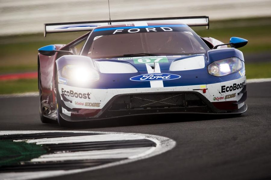Podium Finish For Ford Gt At Silverstone Hr