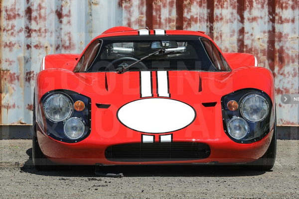 1967 Ford GT40 Mk IV at Gooding's Pebble Beach Auction