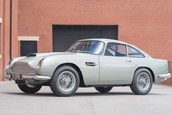 Aston Martin DB4GT Restored to perfection by Adrian Johnson to be shown at Hampton Court Palace