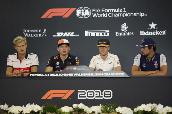 Belgian Grand Prix Drivers' Conference