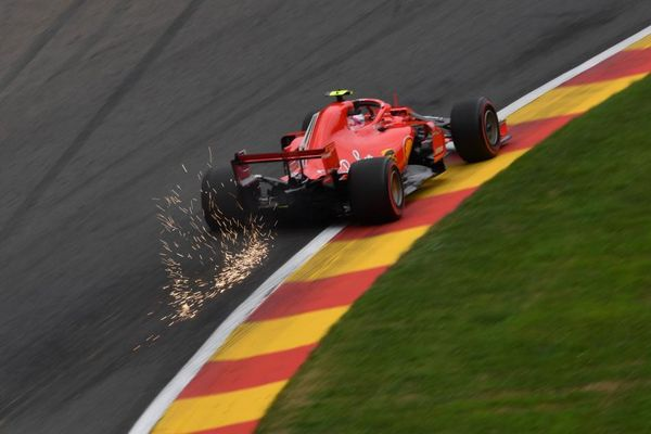 Kimi quickest in FP2 at Spa