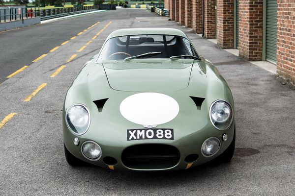 RM Sotheby's sells Aston Martin DP215 for $21.5m in Monterey Auction