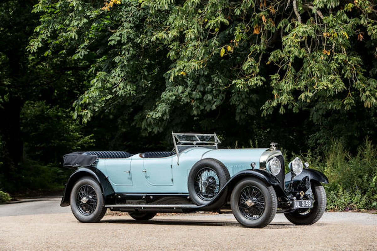Bentley 6½ Ltr Open Sports Tourer sells for £1,285,601 at Bonhams Quail Lodge, results