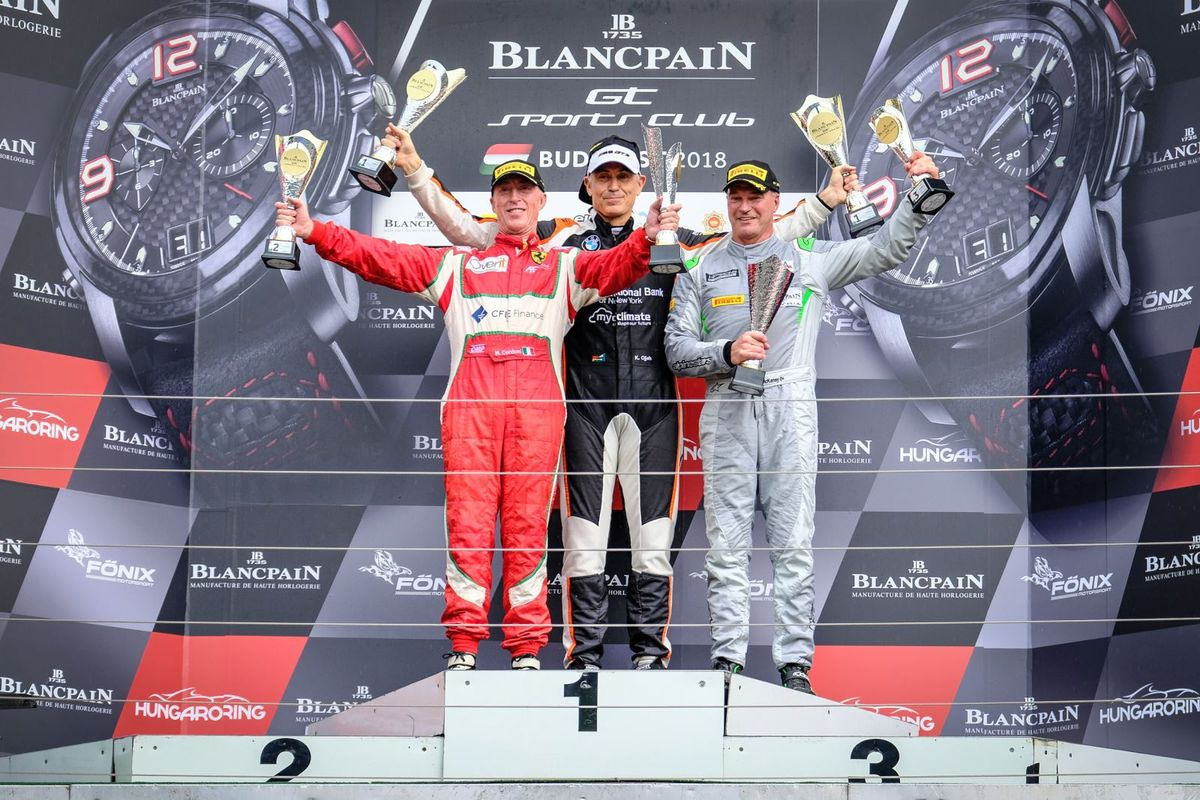 Hungaroring Main Race victory seals maiden Blancpain GT Sports Club title for Karim Ojjeh
