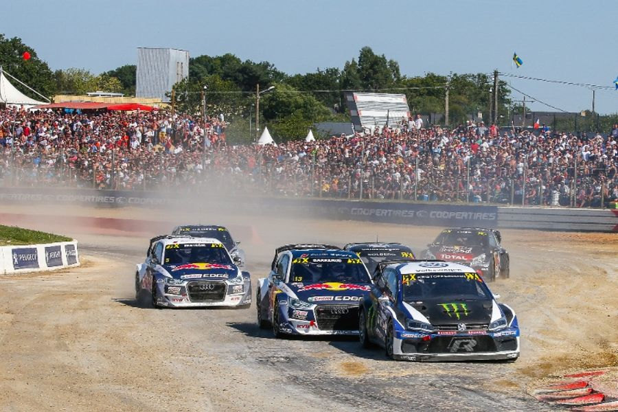 Kristoffersson Races To Loheac World RX Victory