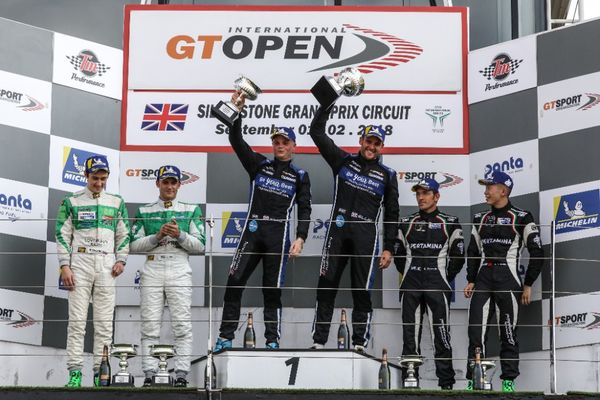 Optimum take top honours at GT Open Silverstone